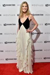 Rosamund Pike - HOSTILES Screening in New York