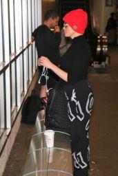 Rose McGowan at LAX Airport