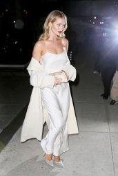 Rosie Huntington-Whiteley is Stylish - Leaves Her Hotel in Soho