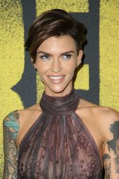 "Ruby Rose – ""Pitch Perfect 3"" Premiere in Los Angeles"