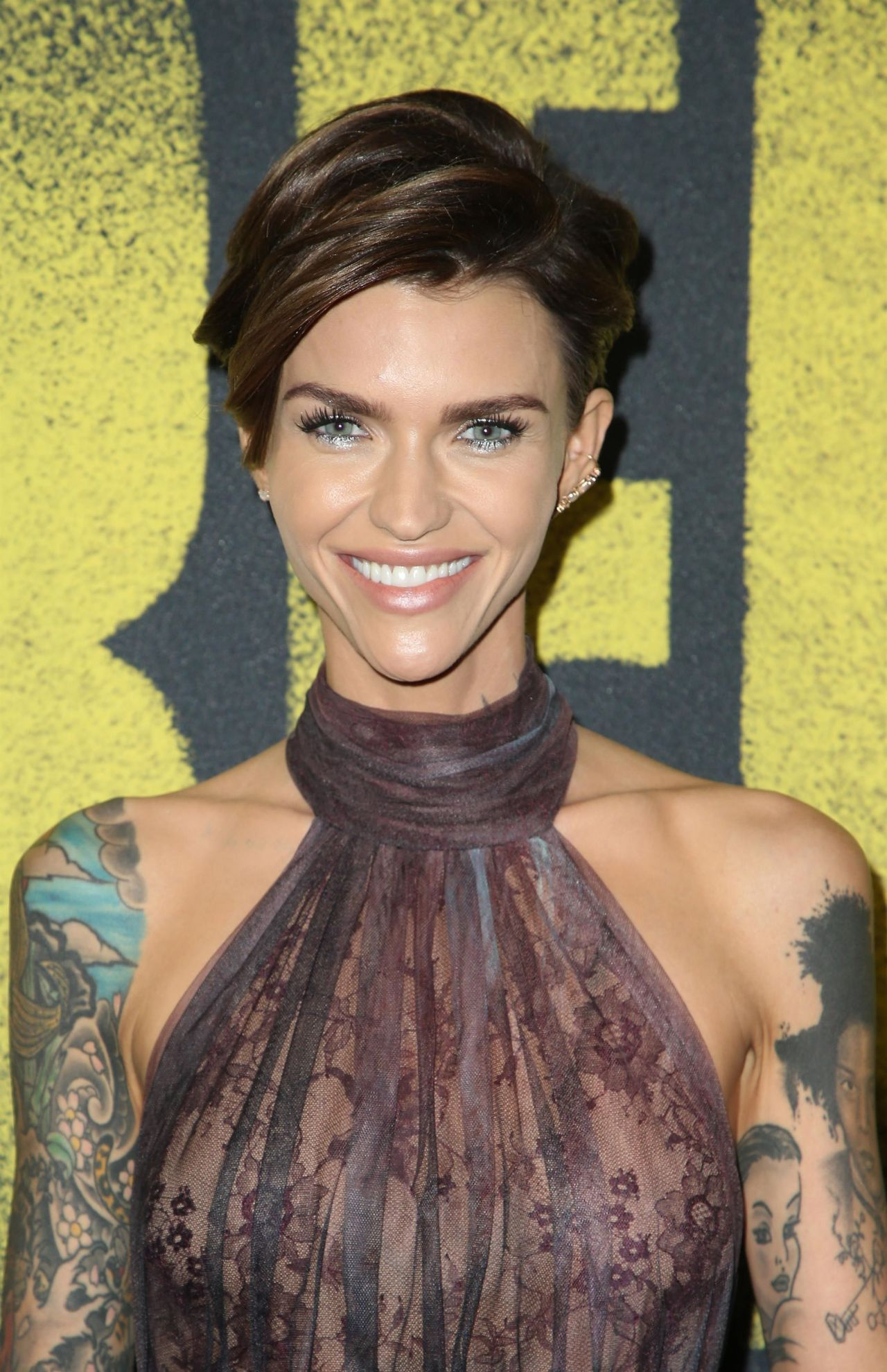 Ruby Rose Pitch Perfect 3 Premiere In Los Angeles