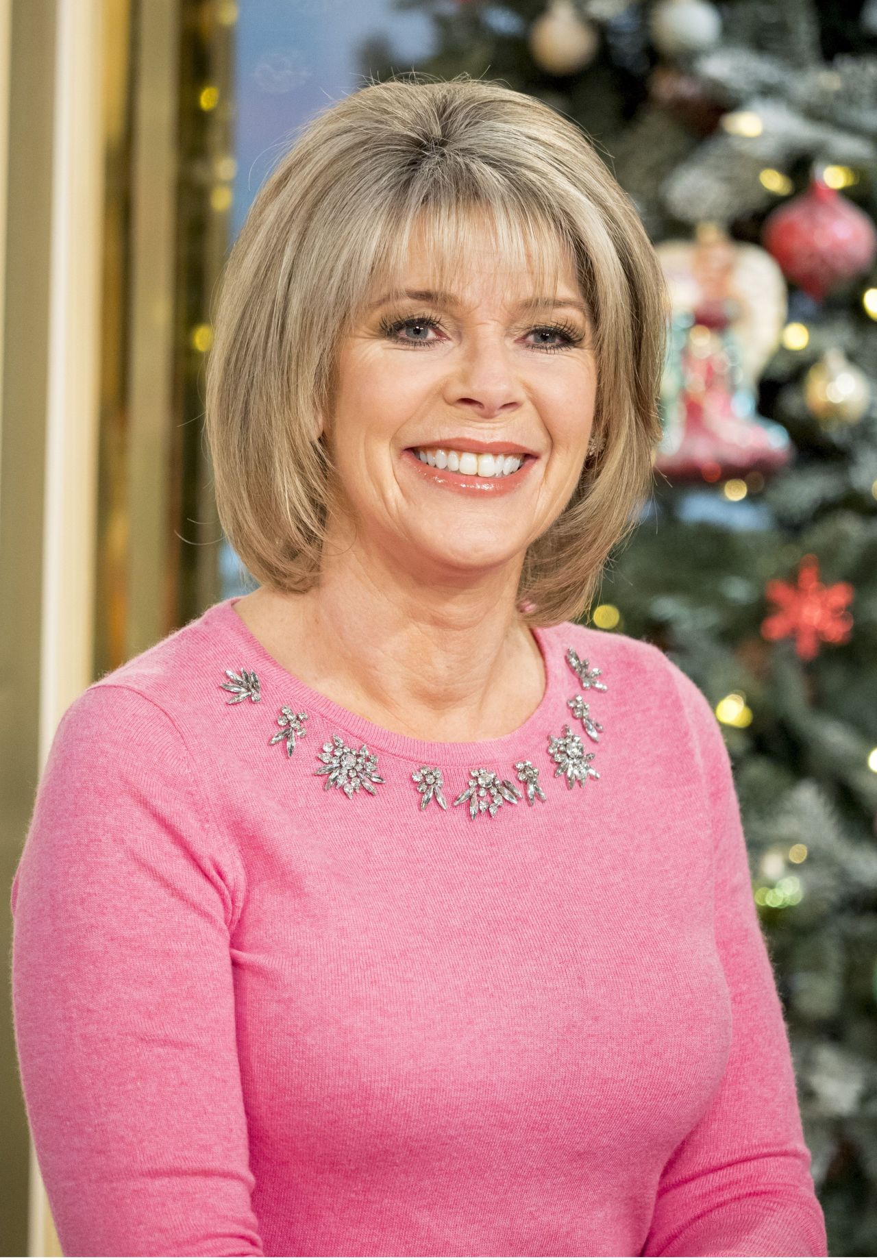 Ruth Langsford - This Morning TV Show in London 12/20/2017