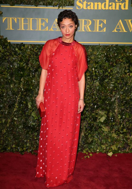 Ruth Negga – London Evening Standard Theatre Awards 2017 in London