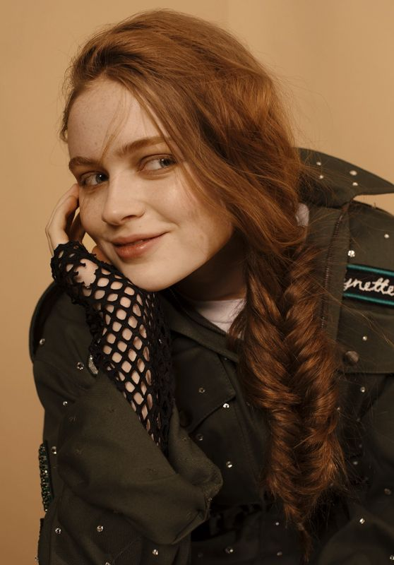 Sadie Sink - Photographed for Bustle Magazine December 2017