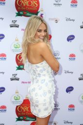 Samantha Jade - Woolworths Carols in the Domain Pre-Show VIP Party in Sydney