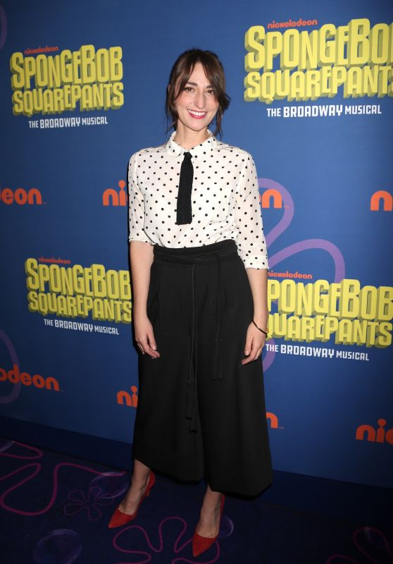 Sara Bareilles - Spongebob Squarepants Opening Night in New York