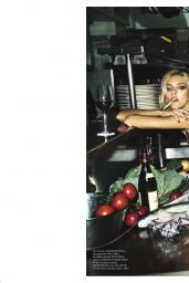 Sara Sampaio and Bella Hadid - Vogue Italia December 2017