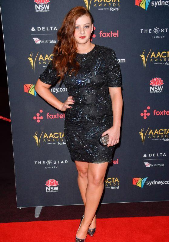 Sara West – AACTA Awards 2017 in Sydney