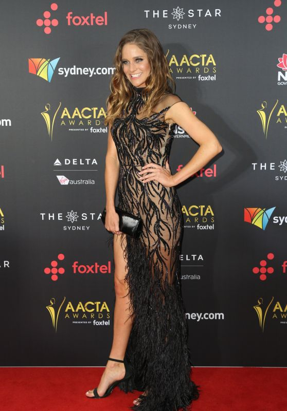 Sarah Bishop – AACTA Awards2017 Red Carpet in Sydney