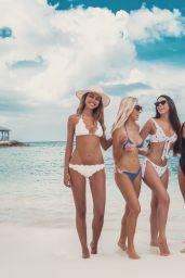 Sarah Jeffery Bikini Pics - Social Media 12/11/2017