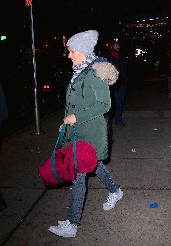 Scarlett Johansson - SNL Afterparty in Manhattan