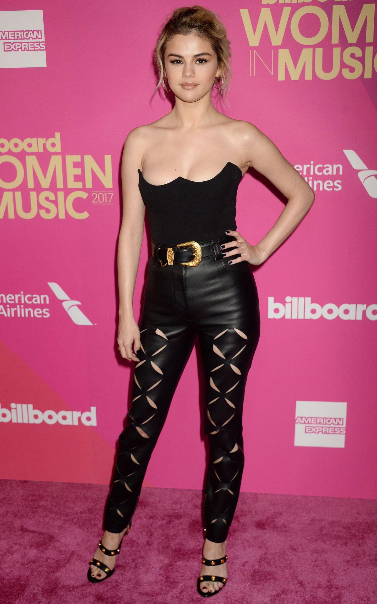 Selena Gomez 2017 Billboard Women In Music In La