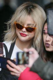 Selena Gomez at Capital Radio in London 12/04/2017