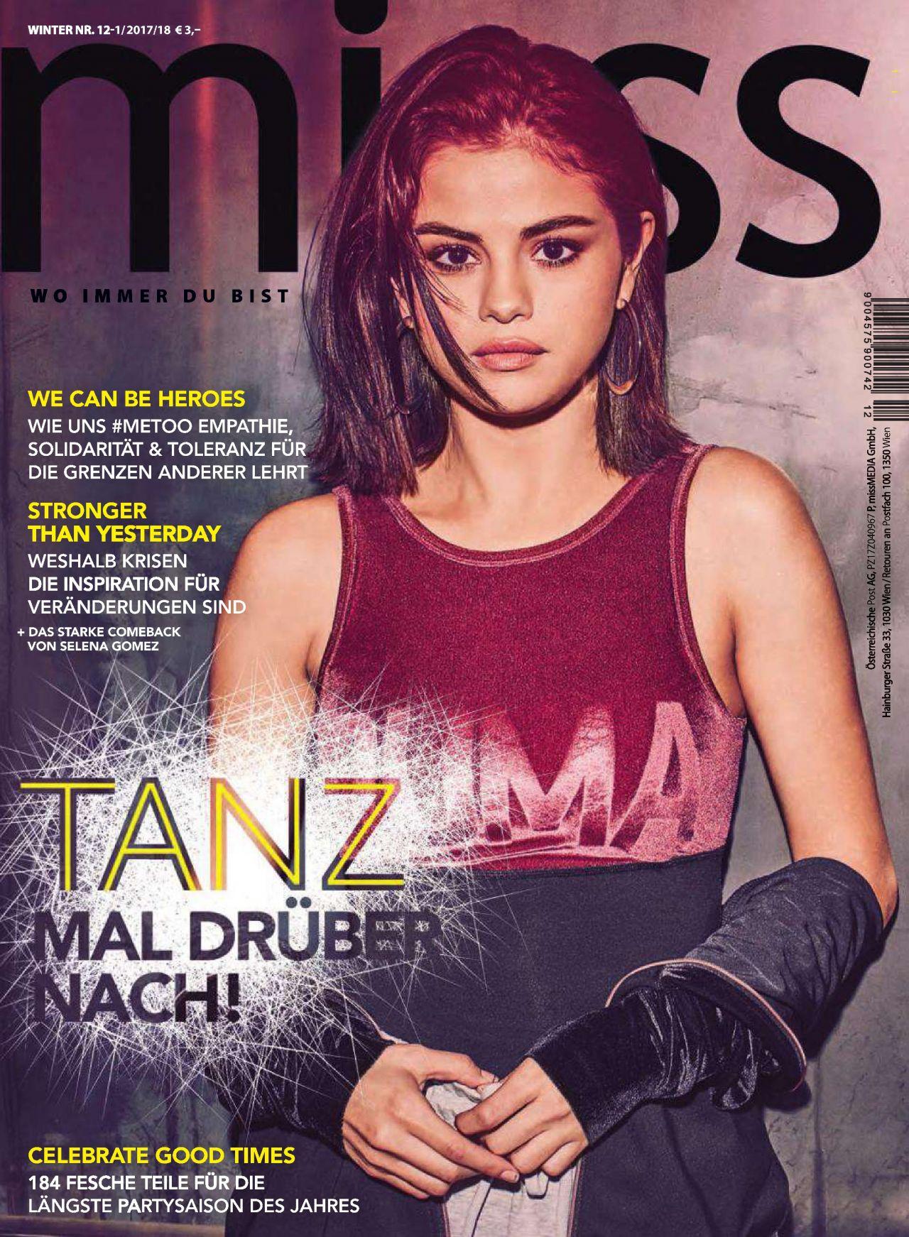Selena Gomez - Miss Magazine Winter 2017-2018