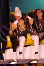 Selena Gomez - Night Out at Winter Wonderland in London