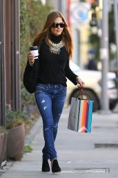 Selma Blair - Christmas Shopping in West Hollywood