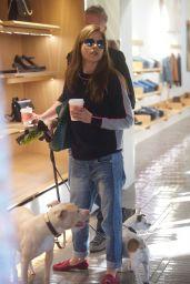 Selma Blair Shopping With Her Boyfriend - Melrose 12/21/2017