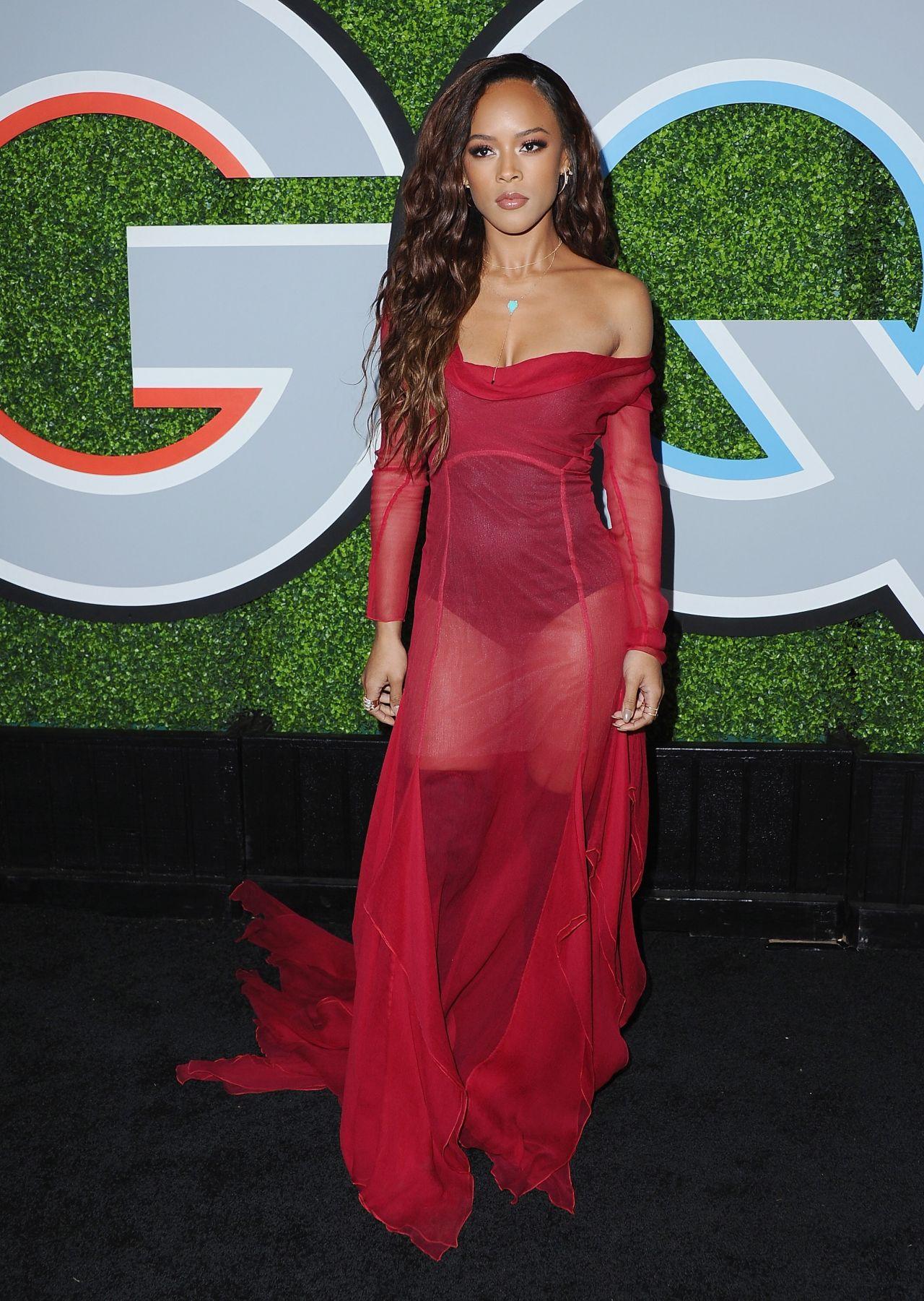 Serayah McNeill – GQ Men of the Year Awards 2017