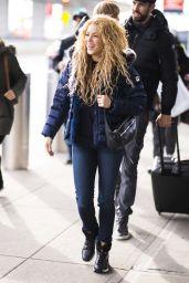 Shakira at JFK Airport in NYC
