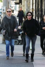 Shannen Doherty Christmas Shopping With Mom in LA