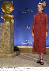 Sharon Stone - Golden Globe Awards 2017 Nomination Announcement in LA