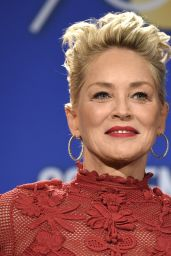 Sharon Stone - Golden Globe Awards 2017 Nomination Announcement in LA