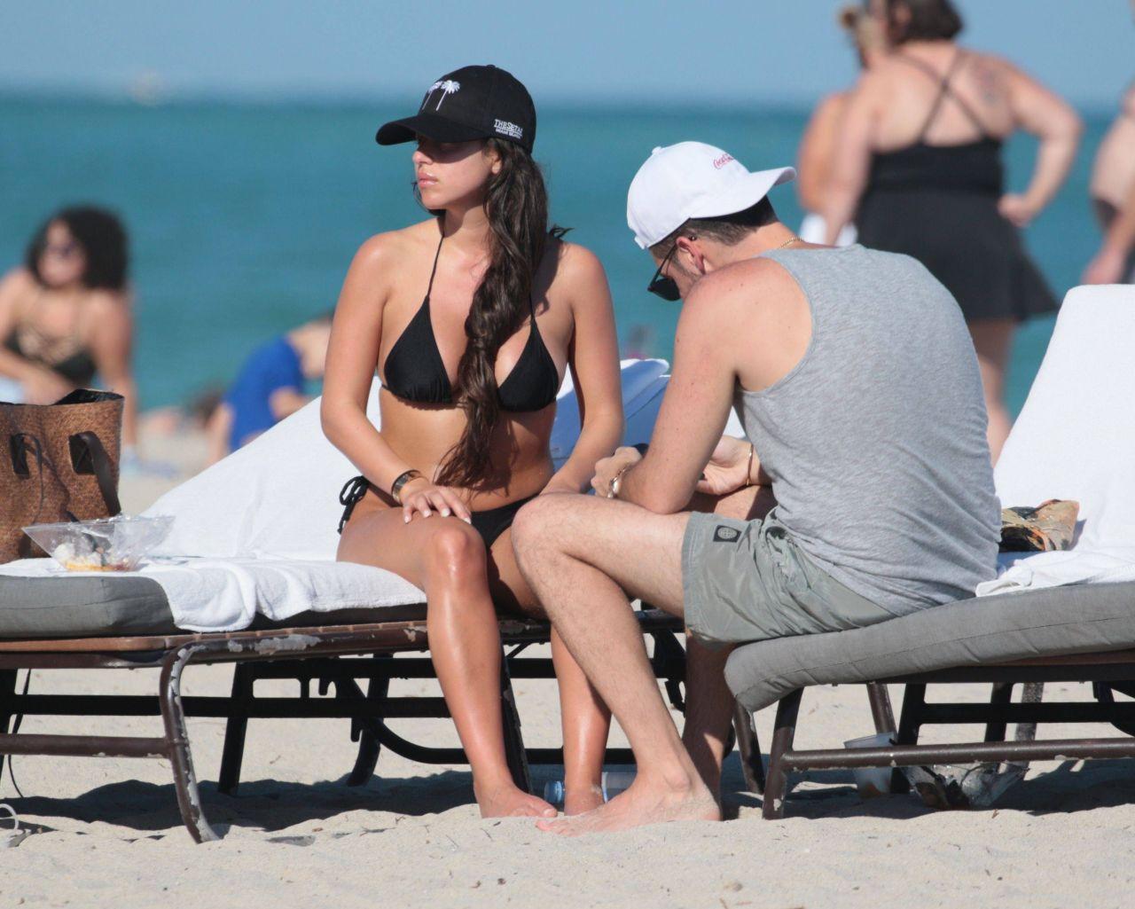 Shira Yaakov in Bikini at the beach in Miami Pic 9 of 35