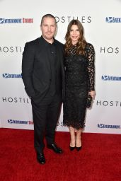 "Sibi Blazic and Christian Bale - ""Hostiles"" Premiere in LA"