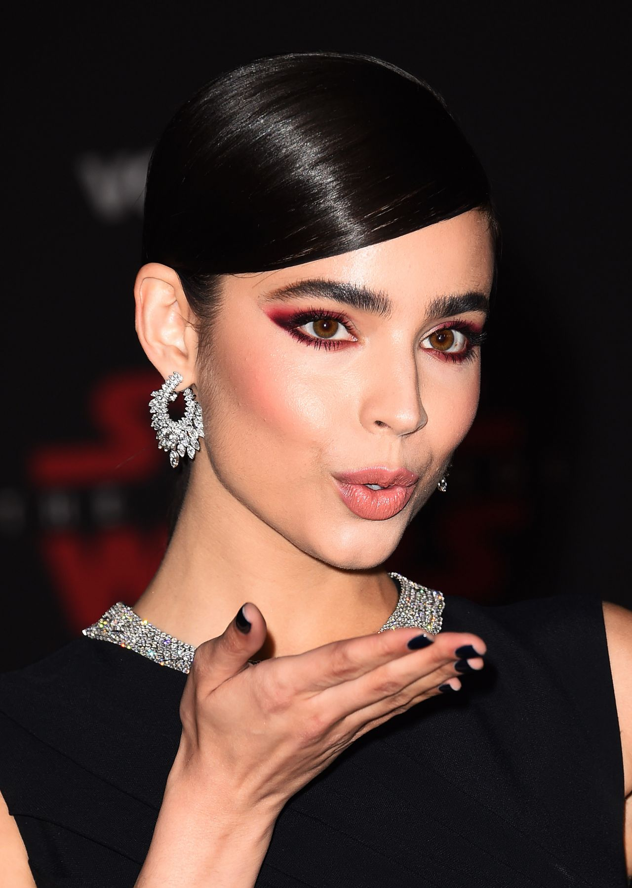 Sofia Carson Star Wars The Last Jedi Premiere In La