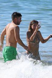 Sofia Jamora Hot in Bikini - Beach in Maui
