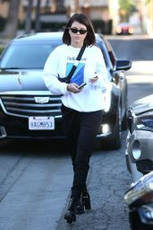 Sofia Richie at Meche Salon Ahead of the Holidays 12/21/2017