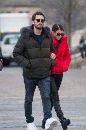Sofia Richie Romantic Stroll With Scott Disick in Aspen
