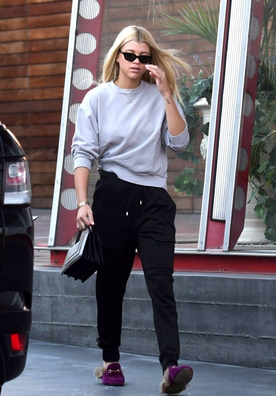 Sofia Richie Street Style - Shops at Gucci in West Hollywood