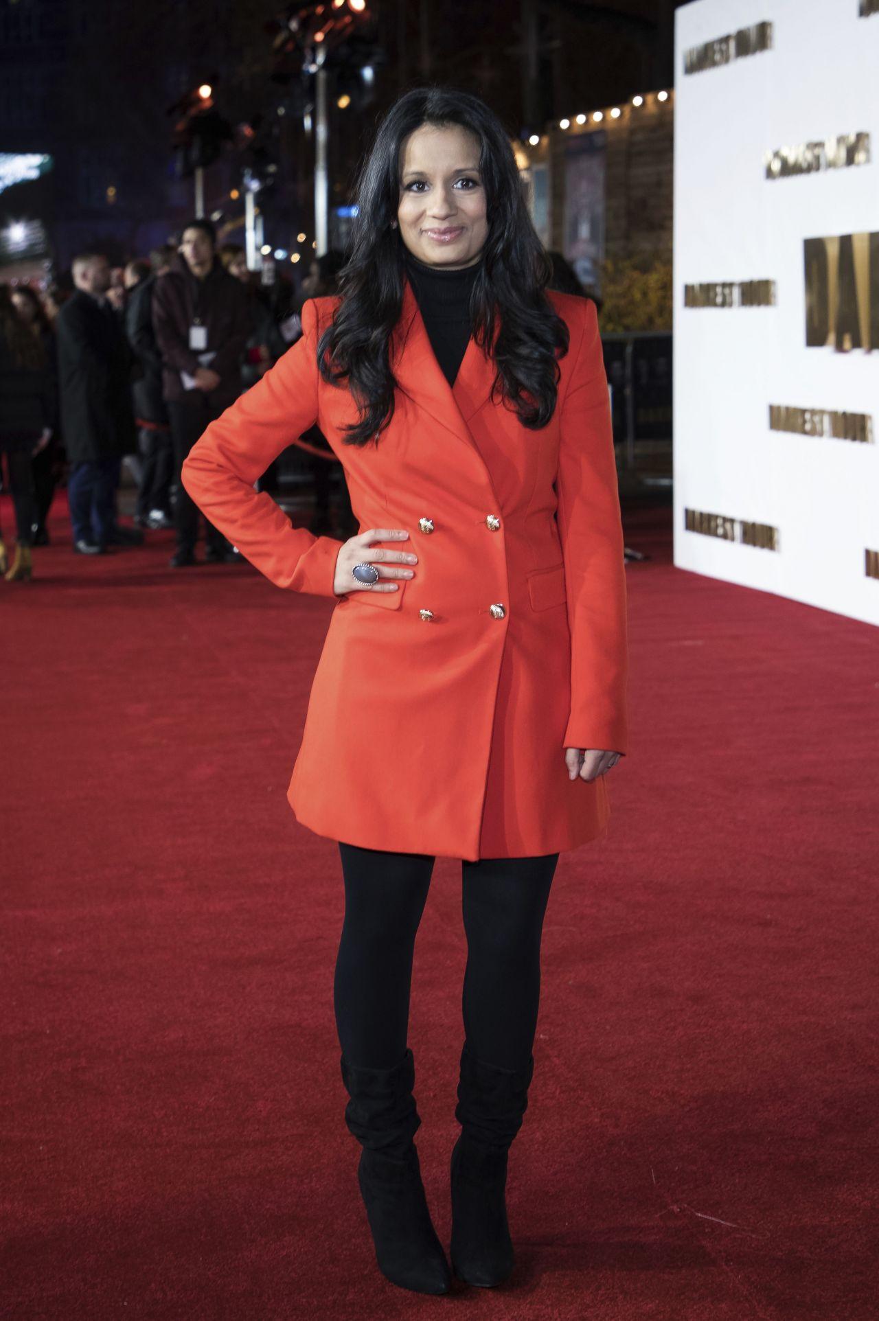 Sonali Shah Darkest Hour Premiere In London