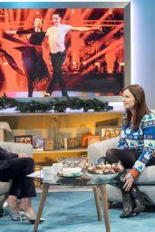 Sophie Ellis-Bextor - Lorraine TV Show in London 12/15/2017