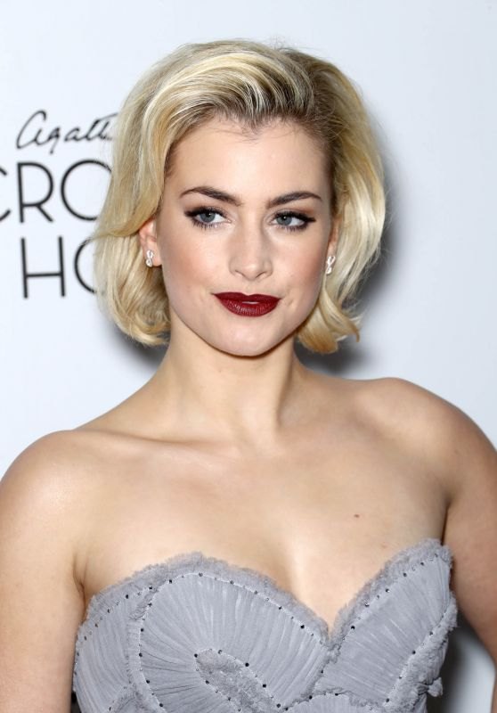 "Stefanie Martini - ""Crooked House"" Premiere at Metrograph in NYC"
