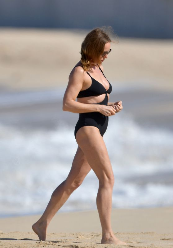 Stella McCartney in Swimsuit in St. Barts