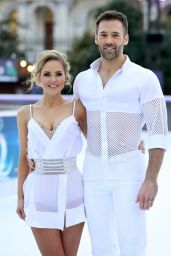 Stephanie Waring – Dancing On Ice Photocall in London 12/19/2017