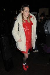 Suki Waterhouse at #FreePeriods Protest in London
