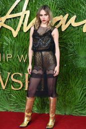 Suki Waterhouse – Fashion Awards 2017 in London