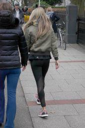 Sylvie Meis Street Style - Hamburg 12/07/2017