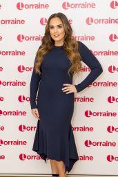 Tamara Ecclestone - Lorraine TV Show in London 12/13/2017