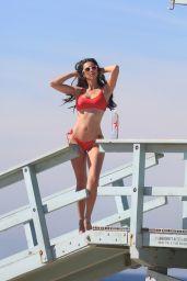 Tania Marie in a Skimpy Bikini - 138 Water Photoshoot in Venice Beach