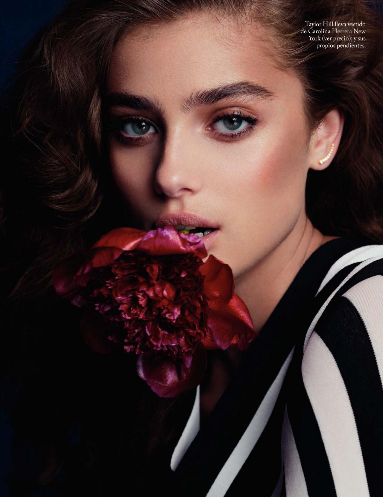 Taylor Hill Vogue Spain January 2018 Issue
