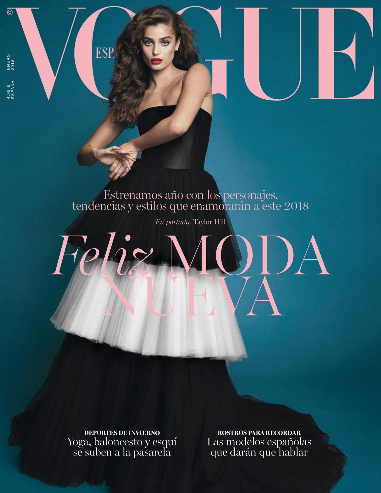 Vogue The Top Selling Fashion Magazine: Vogue Spain January 2018 Issue