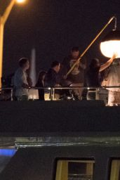 Taylor Swift - Filming Music Video With Rapper Future in Miami