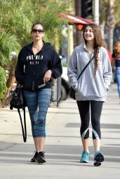 Teri Hatcher and Her Daughter Emerson Tenney Out in LA 12/20/2017