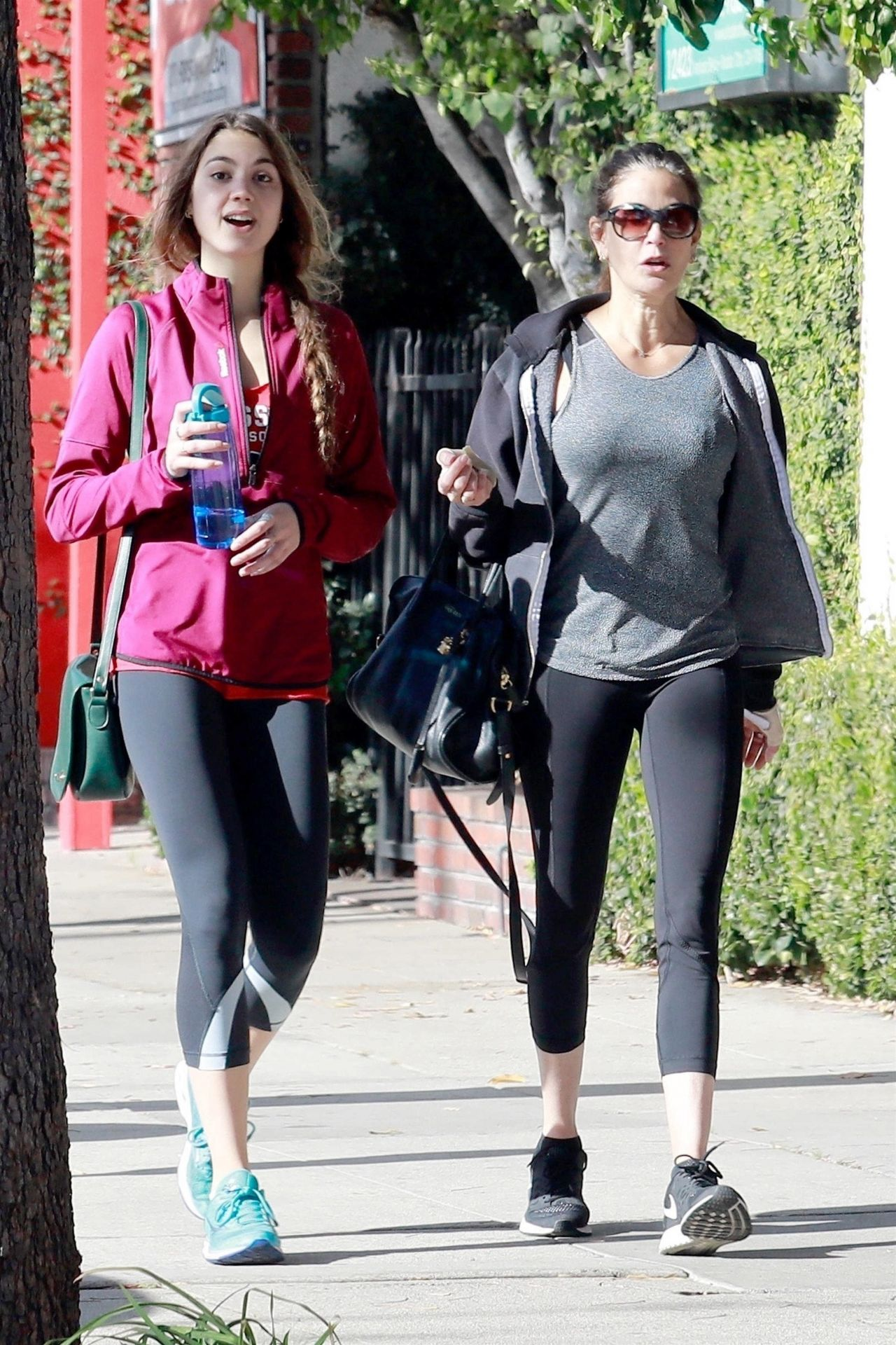 Teri Hatcher - Out in Studio City With Her Daughter 12/22/2017