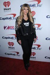 Theresa Giudice - Z100s Jingle Ball 2017 in New York