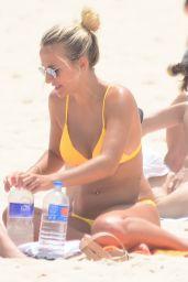 Tiffany Watson and Frankie Graff in Bikinis at Bondi Beach